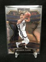 BRANDON CLARKE 2019-20 Select Concourse #76 RC Rookie Card Memphis Grizzlies H15