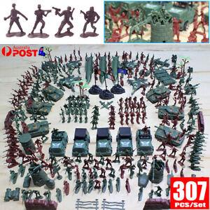 307X Soldiers Grenade Tank Aircraft Rocket Army Men Sand Scene Model Kids Toy