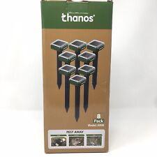 Thanos Solar Sonic Mole Repellent Groundhog Repeller Gopher Deterrent (8 count)