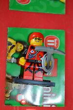 Lego Mini Figure Collectible Series 11 No. 9 Rock Mountain Climber Minifigure