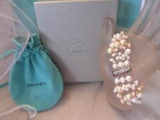 Tiffany & Co. Iridesse Multi- Color Pink,Champagne,White Pearl Torsade Bracelet