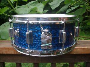 Vintage Rogers Powertone 60's Cleveland  Snare Parts/6X14 Hand Crafted Shell