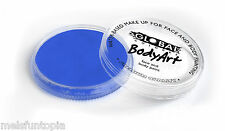 Global Colours 32g pot standard Fresh Blue professional face and body paint