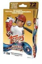 2018 Topps Update Series Baseball Factory Sealed Hanger Box 72 Cards Acuna Soto?