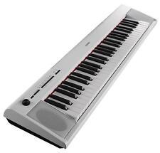 Yamaha Piaggero NP-12 Portable Stage Piano Klavier E-Piano Keyboard Weiss