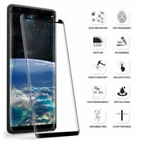 Galaxy Note 8 ,Tempered Glass Screen Protector Poetic® [Ultra Thin] Black