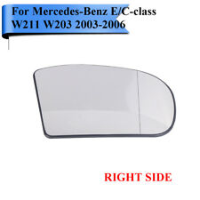Mercedes C Class 2004-2007 Right Hand Wing Mirror Housing+Glass 13 Pin