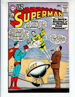 Superman 157 F+ (6.5) 11/62 Mon-el appearance! Gold Kryptonite! Lightning Lad!