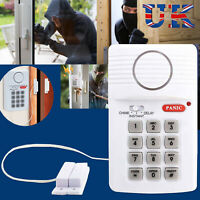 Wireless Security Keypad Alarm System Home Door Shed Garage Caravan Office Panic