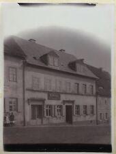 ALTES FOTO LEIPZIG um 1900 BANDAGIST ORTHOPÄDIETECHNIK SELLINGER 24 X 17,5