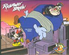 Uganda - Disney Runaway Brain Pt. 1 - Souvenir Sheet MNH