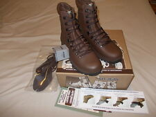 British Army Altberg Defender Brown Combat Boots - Size 8 Wide (New)