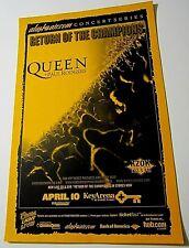 "Queen + Paul Rodgers 2006 Seattle Original Concert Poster ""Return of Champions"""