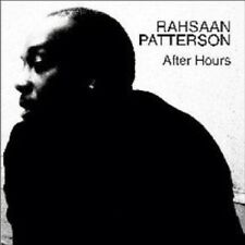 RAHSAAN PATTERSON - AFTER HOURS  CD NEW+
