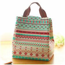 t! Portable Storage Box Insulated Thermal Lunch Bag Tote Outdoor Picnic Case Bag