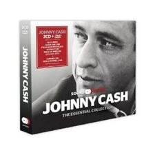 JOHNNY CASH - ESSENTIAL COLLECTION (2CD+DVD) 2 CD + DVD NEW+