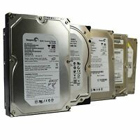 LOT OF 5 Hard Drive Seagate Western Digital Samsung 80GB 500GB 60GB 300GB 30GB