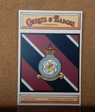Royal Air force No 206 Squadron Crests & Badges of  the Armed services Postcard
