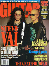 GUITAR WORLD 9 1993 Steve Vai Jerry Garcia Ted Nugent George Lynch Billy Corgan