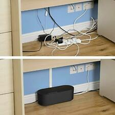 More details for cable tidy box extension lead hide and management conceal wire storage organiser
