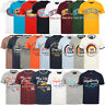Tokyo Laundry Mens Crew Neck T-Shirt Vintage Retro Graphic Print Top Size S-XXL