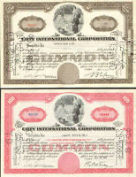Coty International Corporation > 1940s Set of 2 certificate stock