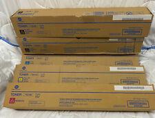 5x Toner für Konica Minolta Accurio Press C3080/C3080P/C3070