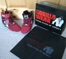 GORILLA WEAR GYM SHOES  Chicago HighTops (size 7-men's/8.5 - women's)