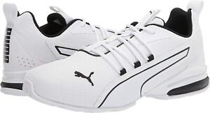 Men's Shoes PUMA AXELION NXT Athletic Running Sneakers 19565603 WHITE