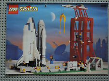 LEGO System 6339 Shuttle Launch Pad Weltraumbahnhof Rakete  kpl. + Figuren+ BA