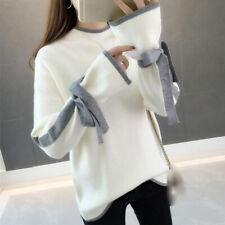 latest Autumn winter Korean fashion trend elegant loose Knitting sweater coat