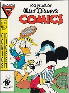 Gladstone Comics Digest Walt Disney's Comics #6