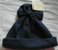 MOTHERCARE NAVY BLUE BABY WINTER HAT 3-6 MONTHS BNWT