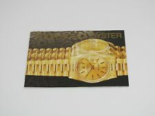"Oyster"" Booklet Pre-Owned Original Rolex ""Your Rolex"