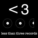 less than three records