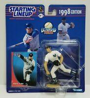 HIDEKI IRABU New York Yankees Kenner Starting Lineup MLB SLU 1998 Figure & Card