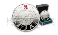 2012 LONDON OLYMPIC SILVER PROOF £5 COIN – OFFICIALLY LICENSED OLYMPIC SILVER