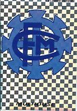 N°393 ECUSSON BADGE FC.MULHOUSE VIGNETTE PANINI FOOTBALL 96 STICKER 1996