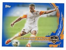 2014 Topps MLS Soccer Jermaine Taylor Blue #d /50