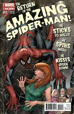AMAZING SPIDERMAN 1 VOL 3 RARE EXCLUSIVE DISPOSABLE HEROES COLOR COMICS VARIANT