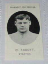W Abbott - Everton Football soccer card
