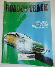 Road & Track Magazine Nissan's V6 Z Car August 1983 032515R