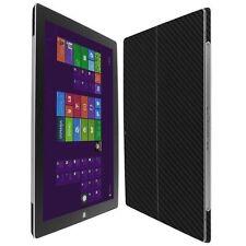 Skinomi Noir Fibre Carbone Peau + Clair Écran Protège pour Microsoft Surface Pro