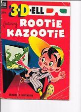 3 D Dell  #1  Rootie Kazootie