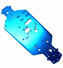 02001 Blue 1/10 Scale Alloy Aluminium Chassis Plate - HSP Parts