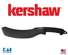 """Kershaw 1072x Camp 12 Fixed Knife 12"""" 65Mn Parang Blade Full tang Blade guard"""