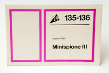 TOPP Buchreihe Elektronik Nr. 135 - 136: Minispione III, Günter Wahl
