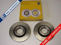 FRONT BRAKE DISC PAIR for TRIUMPH HERALD SPITFIRE & 1300  National Autoparts