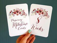 Pregnancy Milestone cards photo prop pregnancy gift