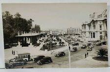 Mexico Street Scene Pergola, Radio RCA Victor RPPC Buses c1930-40's Postcard L9
